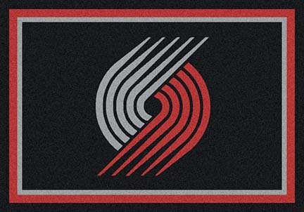 "Portland Trail Blazers 3' 10"" x 5' 4"" Team Spirit Area Rug"