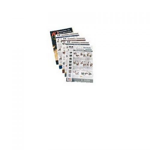 Power Block 799-00163-00 Dumbbell Workout Poster Pack