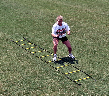 Power Systems 30692 15 ft. Short Agility Ladder