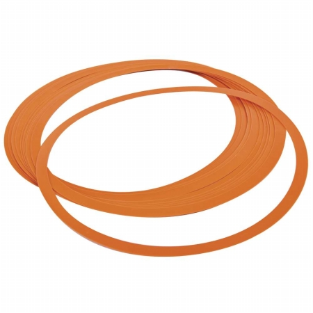 Power Systems 30745 Set of 12 - Indoor Agility Rings - Orange