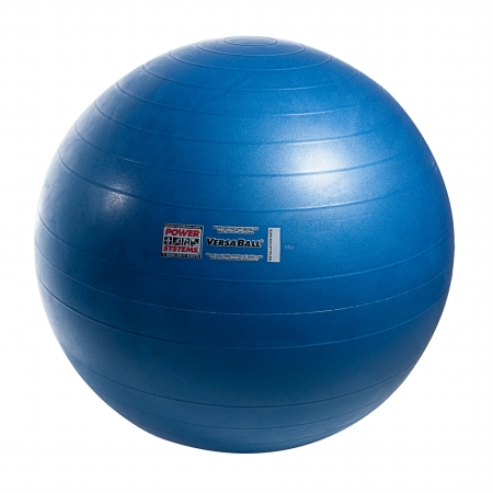 Power Systems 80025 65cm VersaBall Stability Ball - Glacier Blue