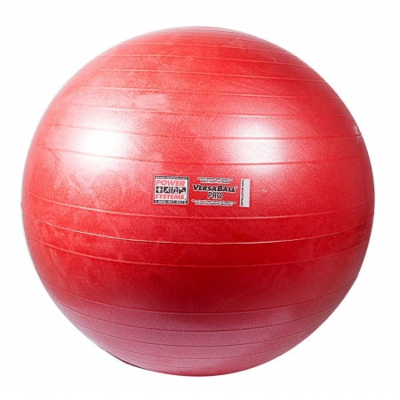 Power Systems 80111 55cm VersaBall Pro Stability Ball - Calypso Berry