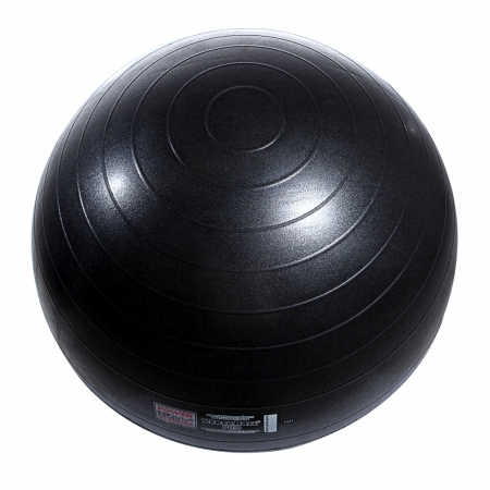 Power Systems 80115 65cm VersaBall Pro Stability Ball - Jet Black