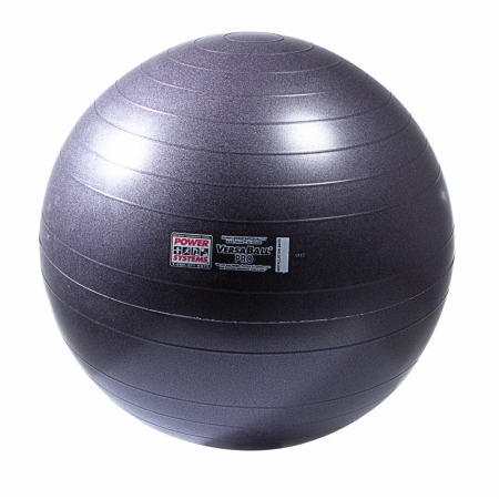 Power Systems 80117 65cm VersaBall Pro Stability Ball - Purple Surf