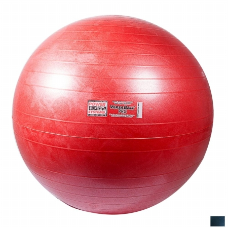 Power Systems 80125 75cm VersaBall Pro Stability Ball - Midnight Blue