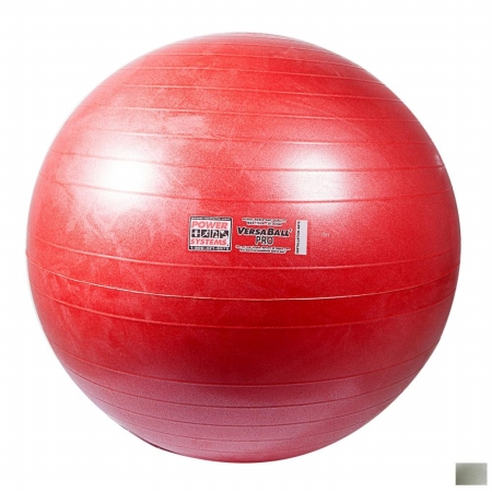 Power Systems 80127 75cm VersaBall Pro Stability Ball - Silver Frost