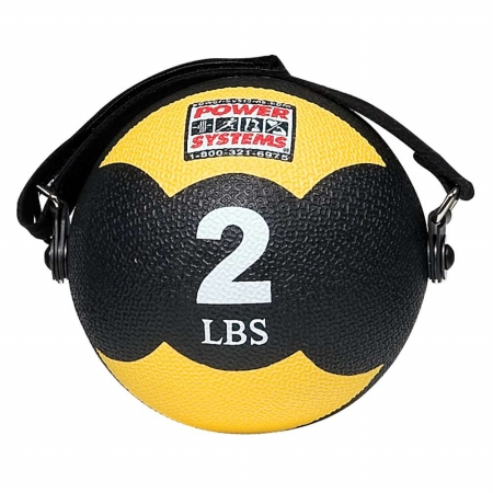 Power Systems 82902 2lb Mind and Body Medicine Ball - Yellow