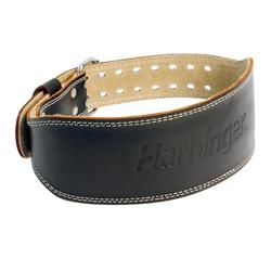 PowerSystems 65417 Harbinger Padded Leather Belt - Black Medium