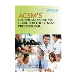 PowerSystems 78186 ACSMS Career & Business Guide for the Fitness Professional