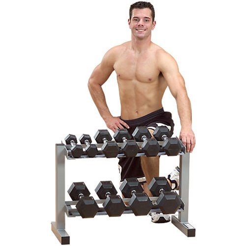 Powerline PDR282X 2 Tier Dumbbell Rack
