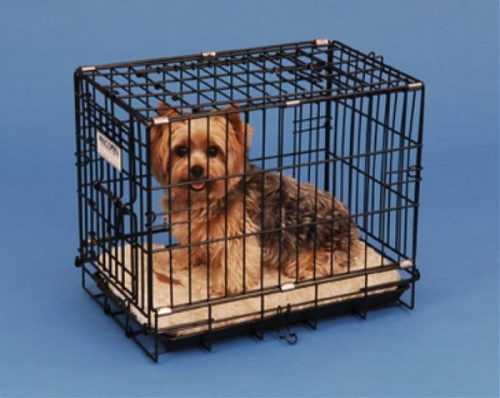 Precision Pet 1125-GRC1000BLK 2-Door Black Great Crate 1000 - 19 x 12 x 15 Inch