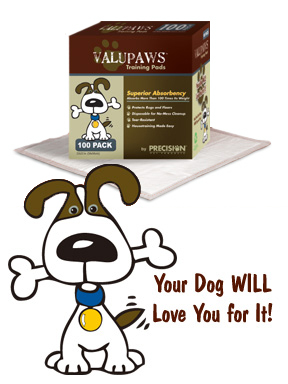 Precision Pet VPPad-100 ValuPaws Housebreaking Pads