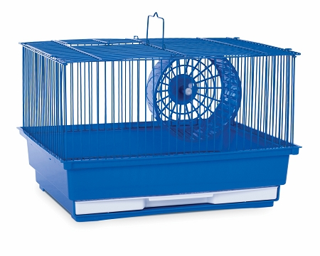 Prevue Hendryx PP-SP2000B Single Story Hamster Cage - Blue