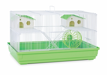 Prevue Hendryx PP-SP2060G Deluxe Hamster & Gerbil Cage - Lime Green