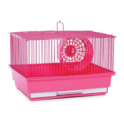 Prevue Pet Products SP2000PK Prevue Hendryx Single Story Hamster & Gerbil Cage- Pink