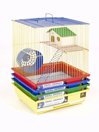 Prevue Pet Products SP2010G Prevue Hendryx Two Story Hamster & Gerbil Cage- Green