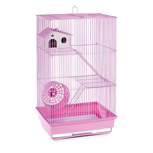 Prevue Pet Products SP2030L Prevue Hendryx Three Story Hamster & Gerbil Cage- Lilac