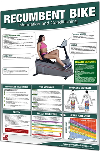 Productive Fitness CRBL Recumbent Bike - Laminated