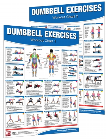 Productive Fitness DN-SET Dumbbell Workout Set