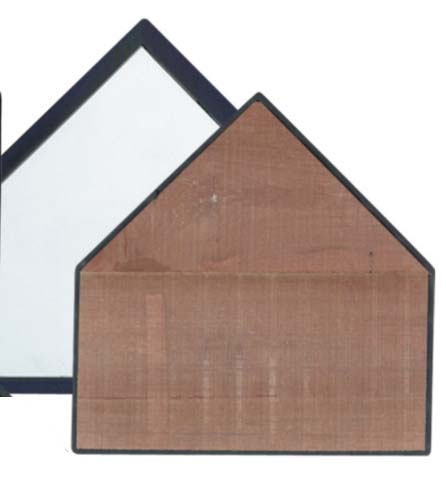 Professional Home Plate with Wood Filler