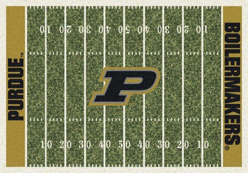 "Purdue Boilermakers 3' 10"" x 5' 4"" Home Field Area Rug"