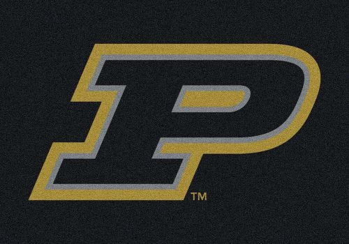 "Purdue Boilermakers 3'10""x 5'4"" Team Spirit Area Rug"