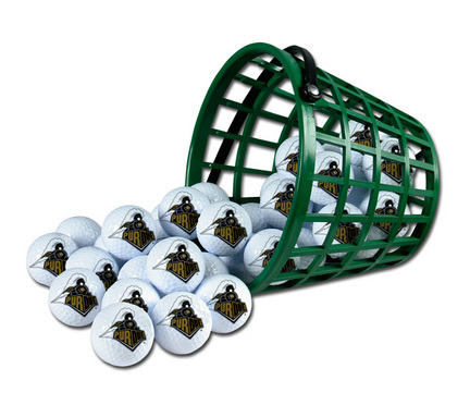 Purdue Boilermakers Golf Ball Bucket (36 Balls)