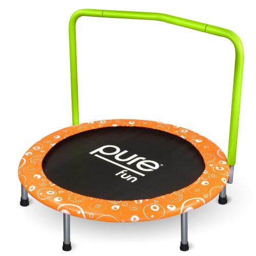 Pure Fun 9336KM 36 in. Foldable Kids Mini Trampoline