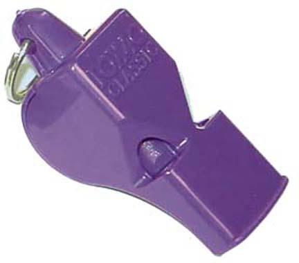 Purple Fox Whistles - Purple - Set Of 10
