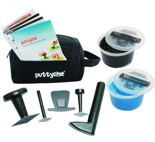 Puttycise 10-2852 Theraputty 5 Tool Set with 2 x 1 lbs Putties Difficult with Bag