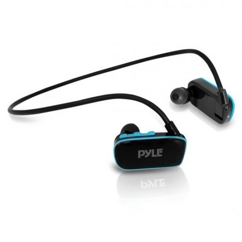 Pyle PSWP6BK Flextreme Waterproof MP3 Player with Headphones