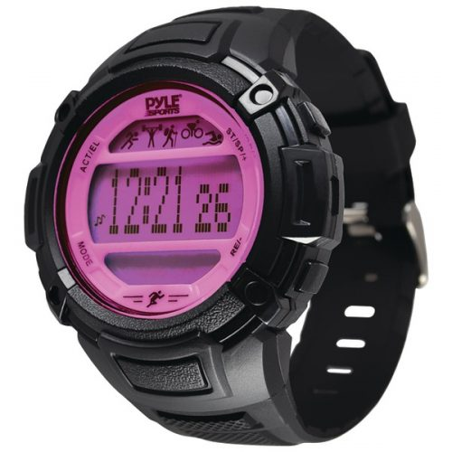 Pyle-Sports PAST44PN Multifunction Activity Watch - Pink