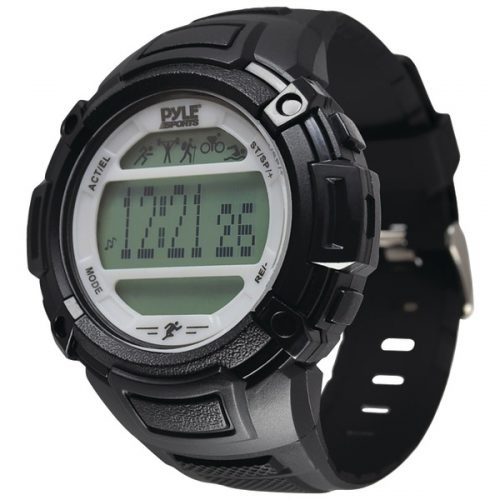 Pyle-Sports PAST44SL Multifunction Activity Watch - Silver