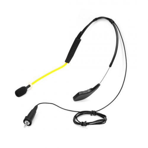 PyleSports PMKWP2 Flexible Water Resistant Headset Microphone for Exercise & Fitness Sennheiser Connector