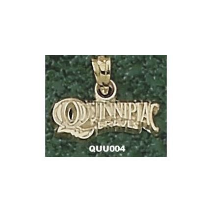 "Quinnipiac Braves Arched ""Quinnipiac Braves"" Pendant - 14KT Gold Jewelry"