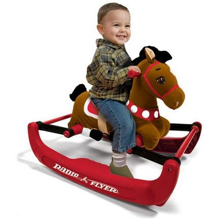 Radio Flyer Soft Rock and Bounce Pony / Horse with Sound