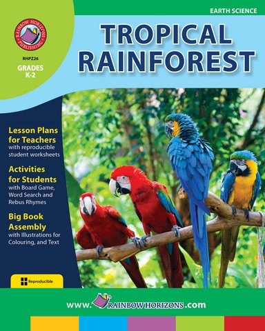 Rainbow Horizons Z26 Tropical Rainforest - Grade K to 2