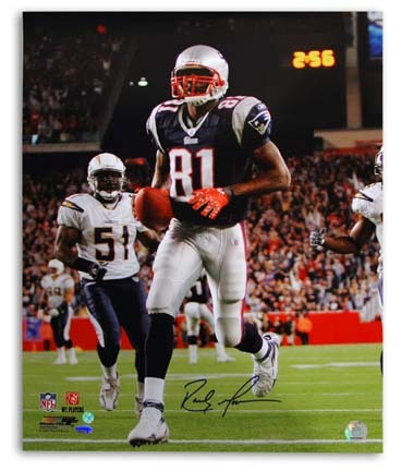 "Randy Moss New England Patriots Autographed 8"" x 10"" Photograph (Unframed)"