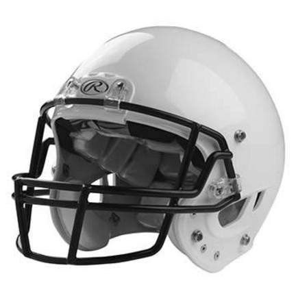 Rawlings NRG Momentum Youth Football Helmet (Black)