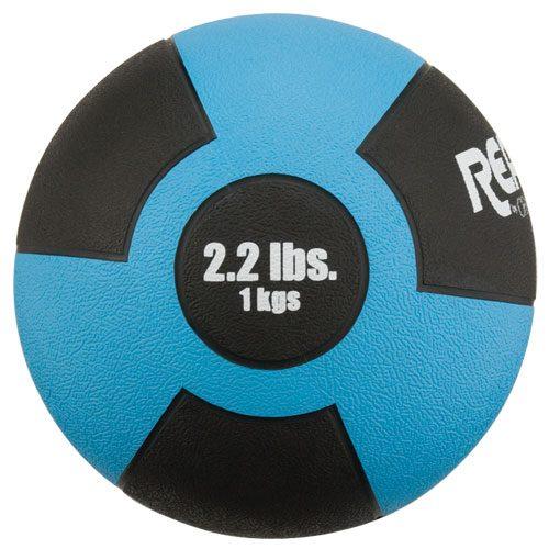 Reactor Rubber Medicine Ball 1kg Lt Blue
