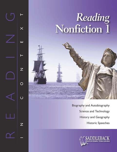 Reading Nonfiction 1 Enhanced E-Book CD Book