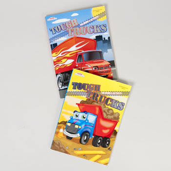 Regent Products 148501 Color & Activity book Tough Truck - Pack of 24