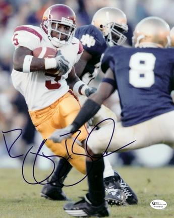 "Reggie Bush Autographed USC Trojans 8"" x 10"" Photograph 2005 Heisman Winner (Unframed)"