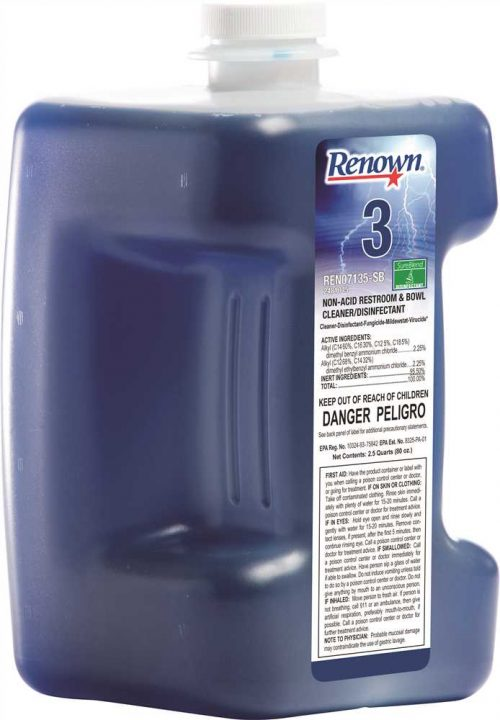 Renown Ren07135-Sb Renown Sureblend Non-Acid Restroom & Bowl Cleaner And Disinfectant 80 Oz.