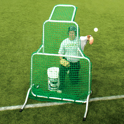 Replacement Netting for the Short-Toss Fixed-Frame™ Protective Screen from The Jugs Company