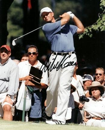 "Retief Goosen ""Swinging Action"" Autographed Golf 8"" x 10"" Photograph (Unframed)"