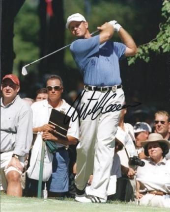 "Retief Goosen ""Swinging"" Autographed Golf 8"" x 10"" Photograph (Unframed)"