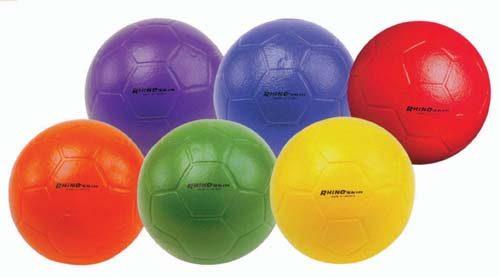 Rhin Shin Soccer Balls - Size 5 (1 ea. color)