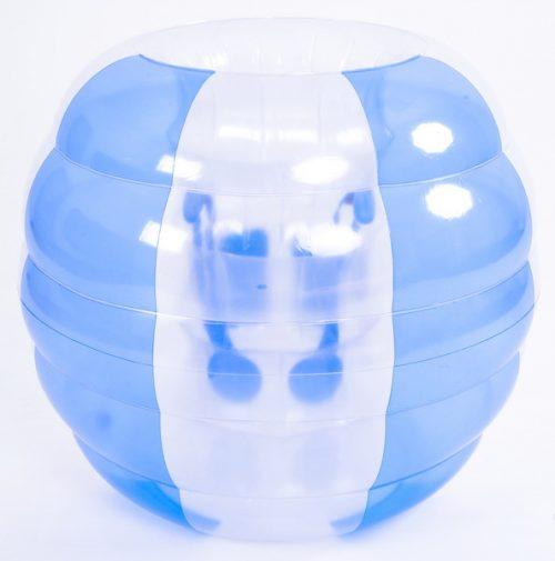 Rhino Master NT6019-BL Maximum Impact Bubble Soccer Inflatable Bumper Ball Blue & White