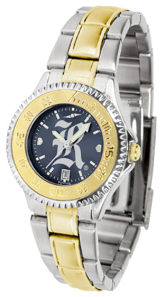 Rice Owls Competitor AnoChrome Ladies Watch with Two-Tone Band